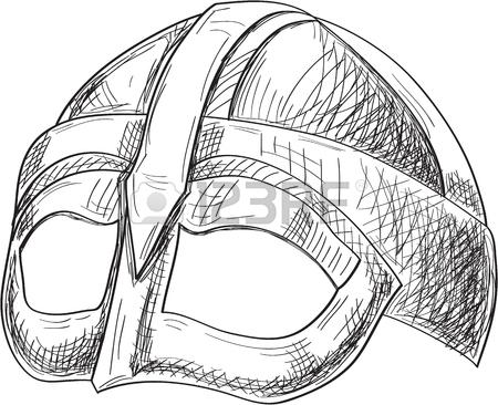 450x366 Side Viking Helmet Engraving Style Royalty Free Cliparts, Vectors