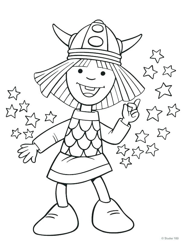 603x800 Minnesota Vikings Coloring Pages