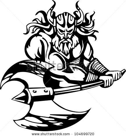 433x470 Collection Of Black And White Viking Helmet Tattoo Clip Art