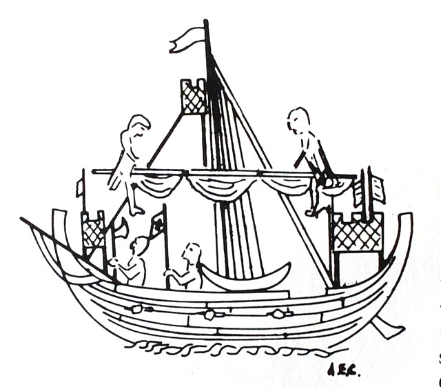 Viking Longboat Drawing at GetDrawings.com | Free for personal use ...
