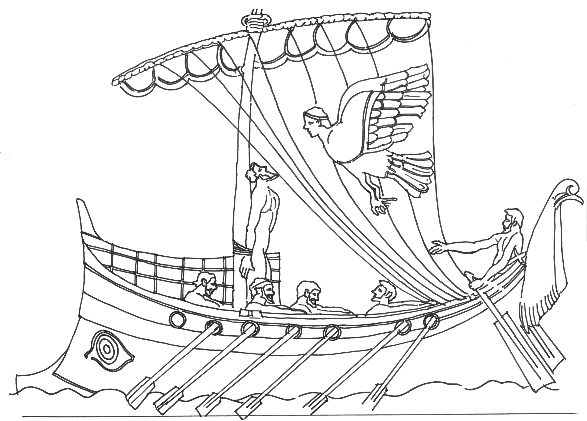 The Best Free Odysseus Drawing Images Download From 40 Free