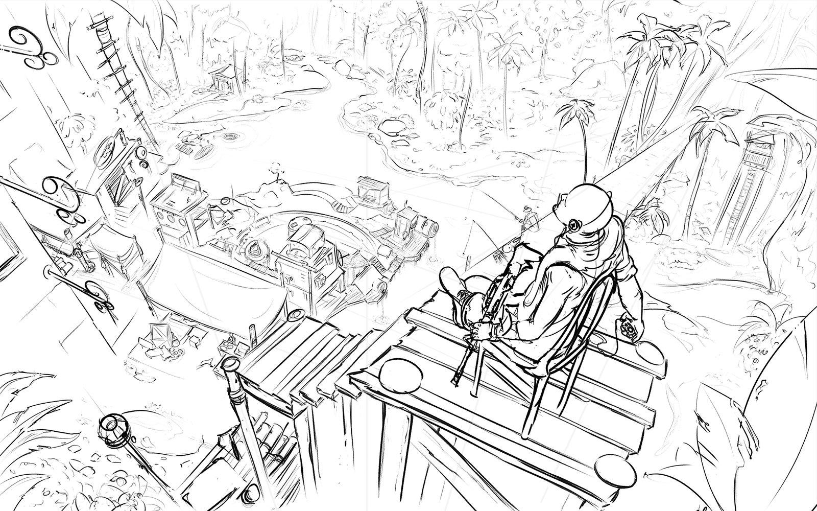1600x1000 Jungle Village By N Deed