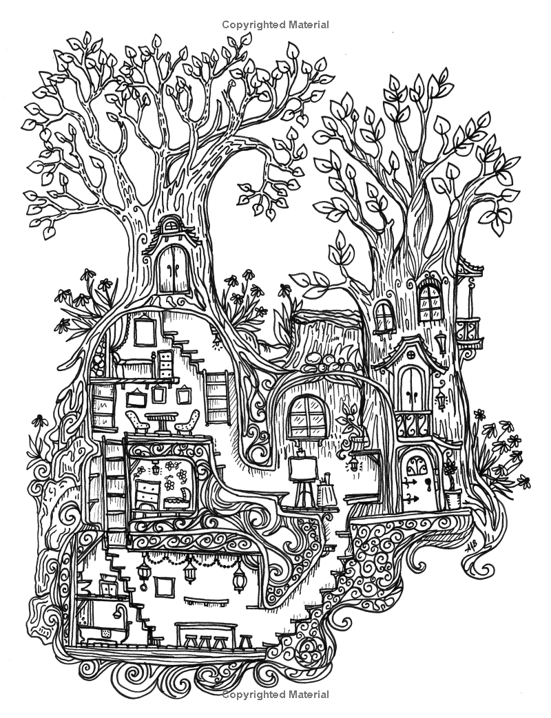 800x1043 A Coloring Book For Adults And Children
