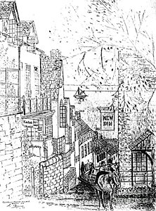 222x300 Walled Village Drawings Fine Art America