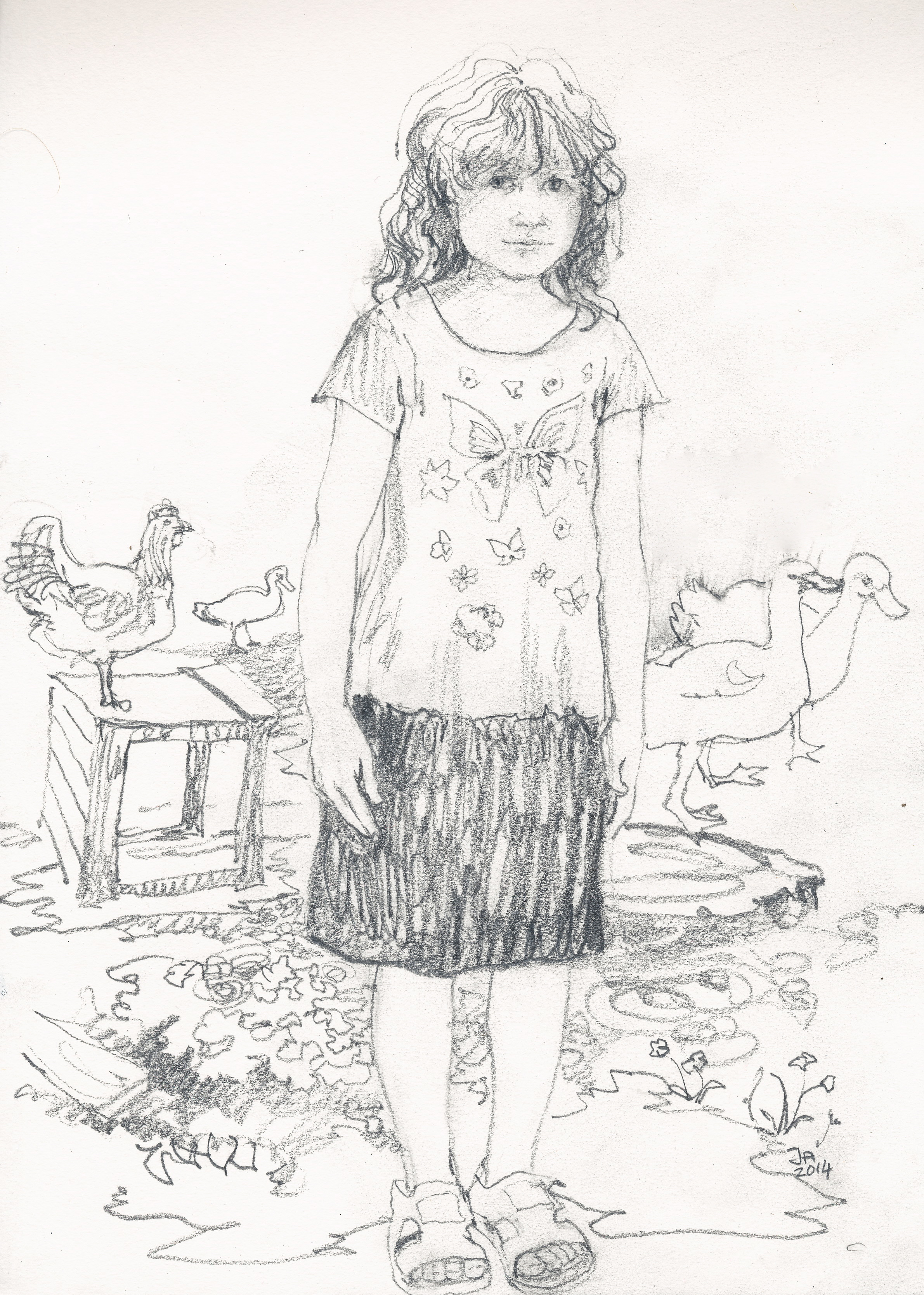 2381x3336 Drawings Of Yazidi People Janeadamsart