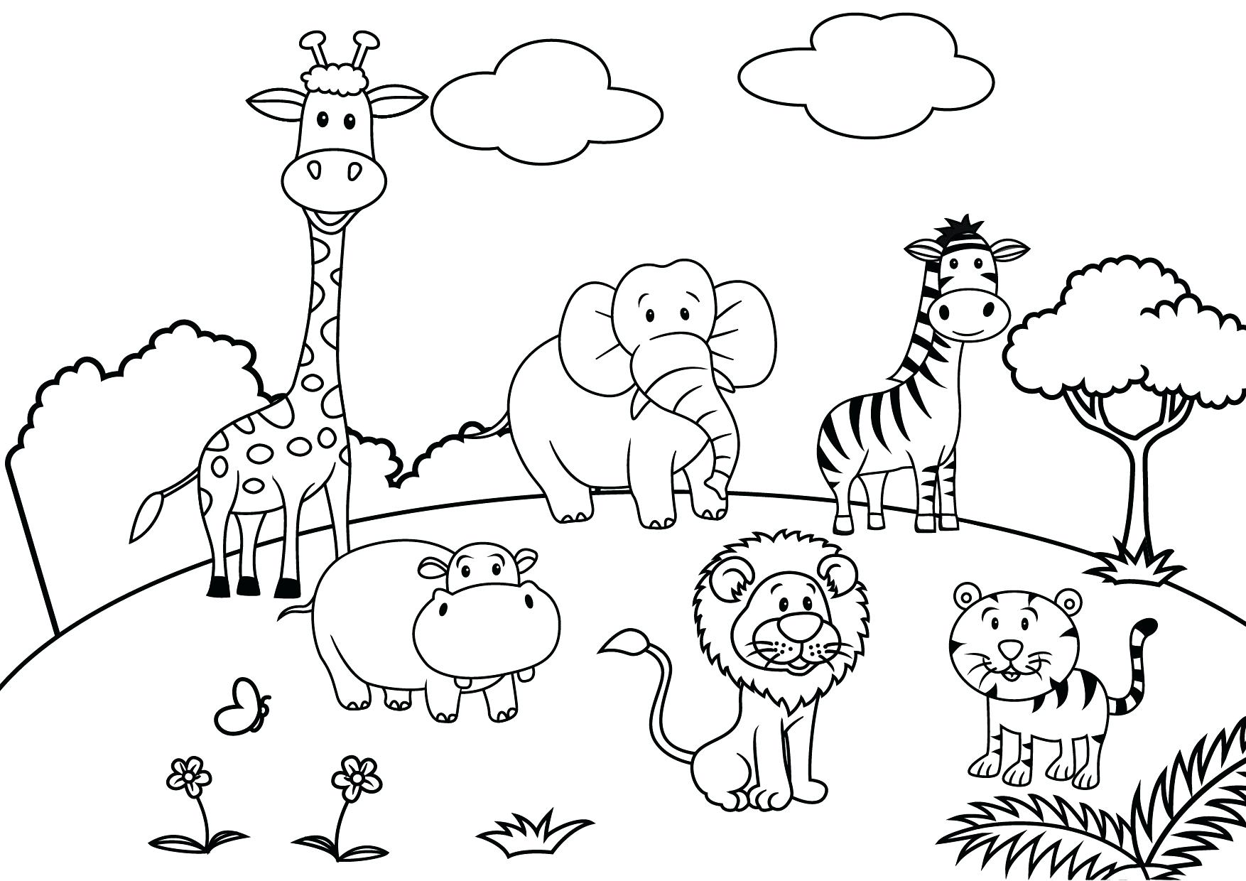 1754x1240 Coloring Village Coloring Pages Drawing For Cover Page