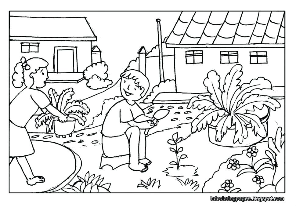 970x678 Scenery Coloring Pages Best Coloring Pages