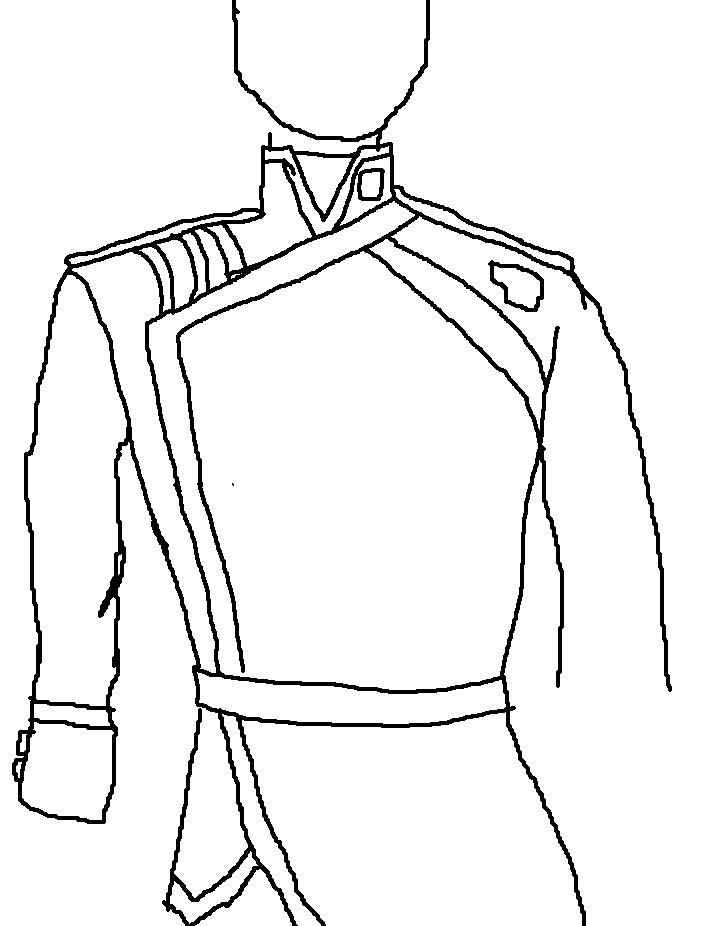 704x926 Now, Onto Villain Costume This Is A Simple Unfinished Drawing