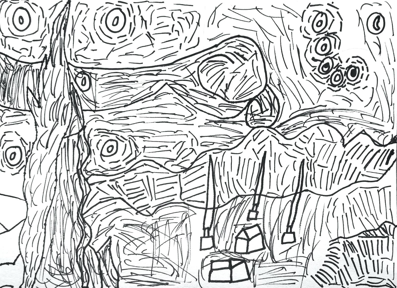 Vincent Van Gogh Drawing at GetDrawings.com | Free for personal use ...
