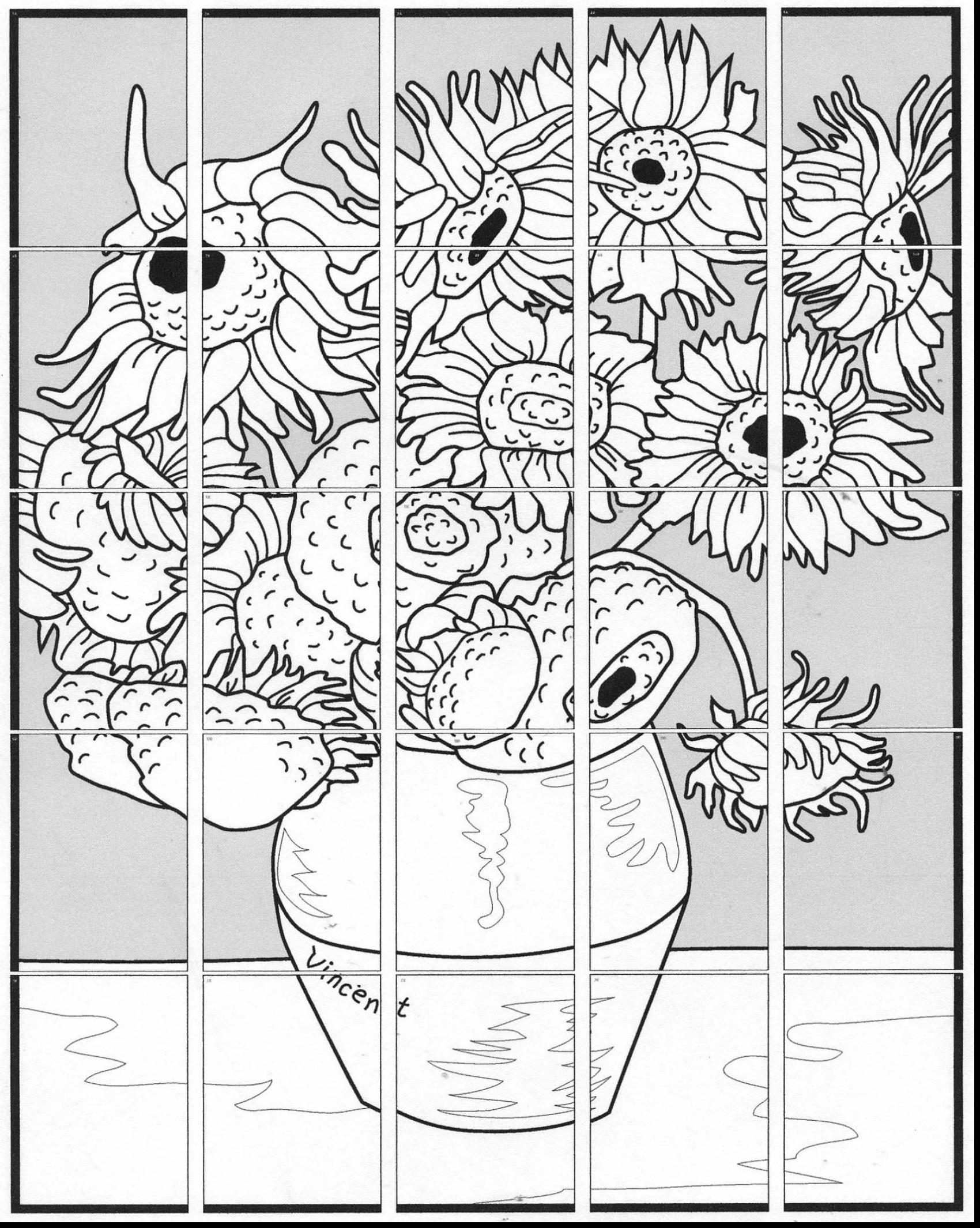 1700x2130 Unbelievable Van Gogh Starry Night Coloring Page With Van Gogh