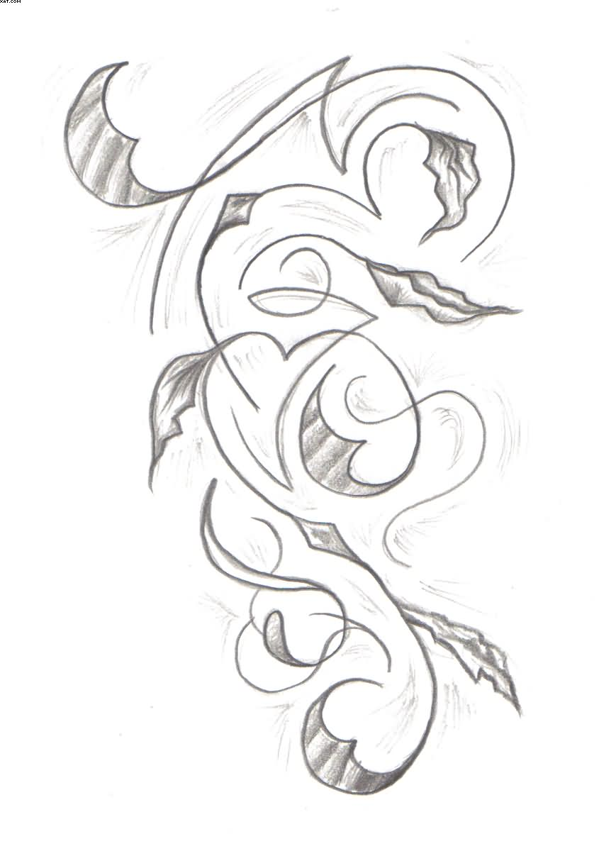 845x1200 Awesome Vine Tattoo Designs