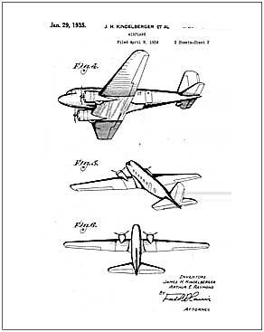 292x367 Flight, Vintage Internet Patent Reproductions