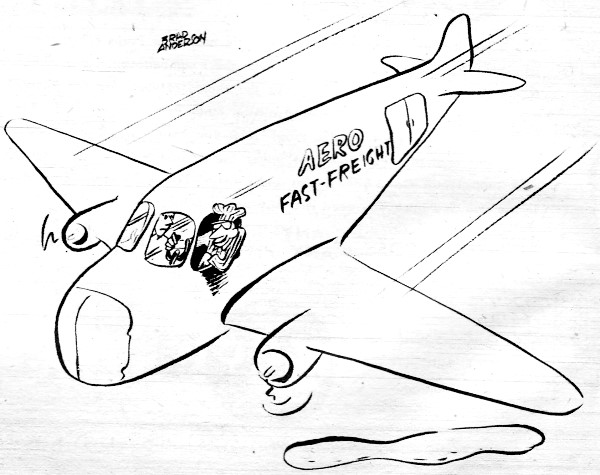 600x475 Model Aviation Comics Of Yore, Comics From 1950s Through Mid 1970s