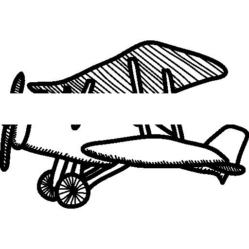 512x512 Small Vintage Airplane