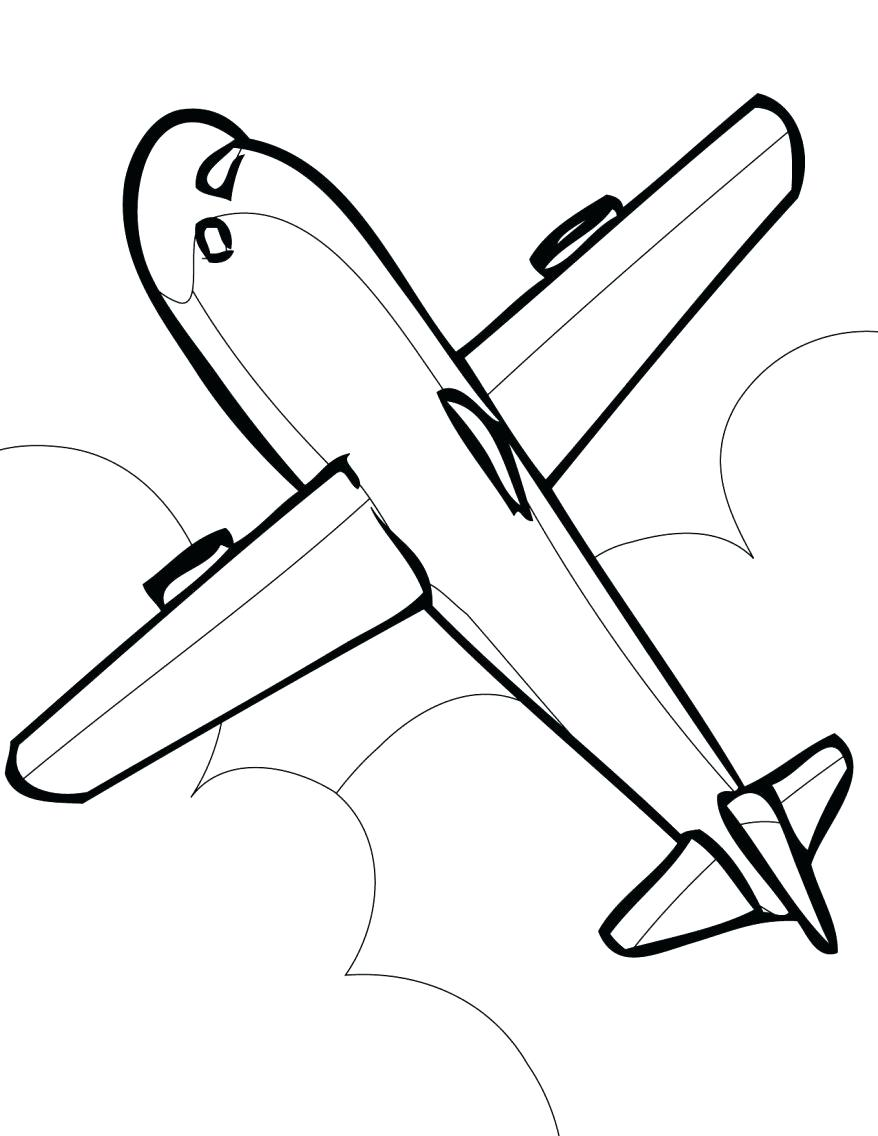 878x1136 Coloring Printable Airplane Coloring Pages Army Plane A Free