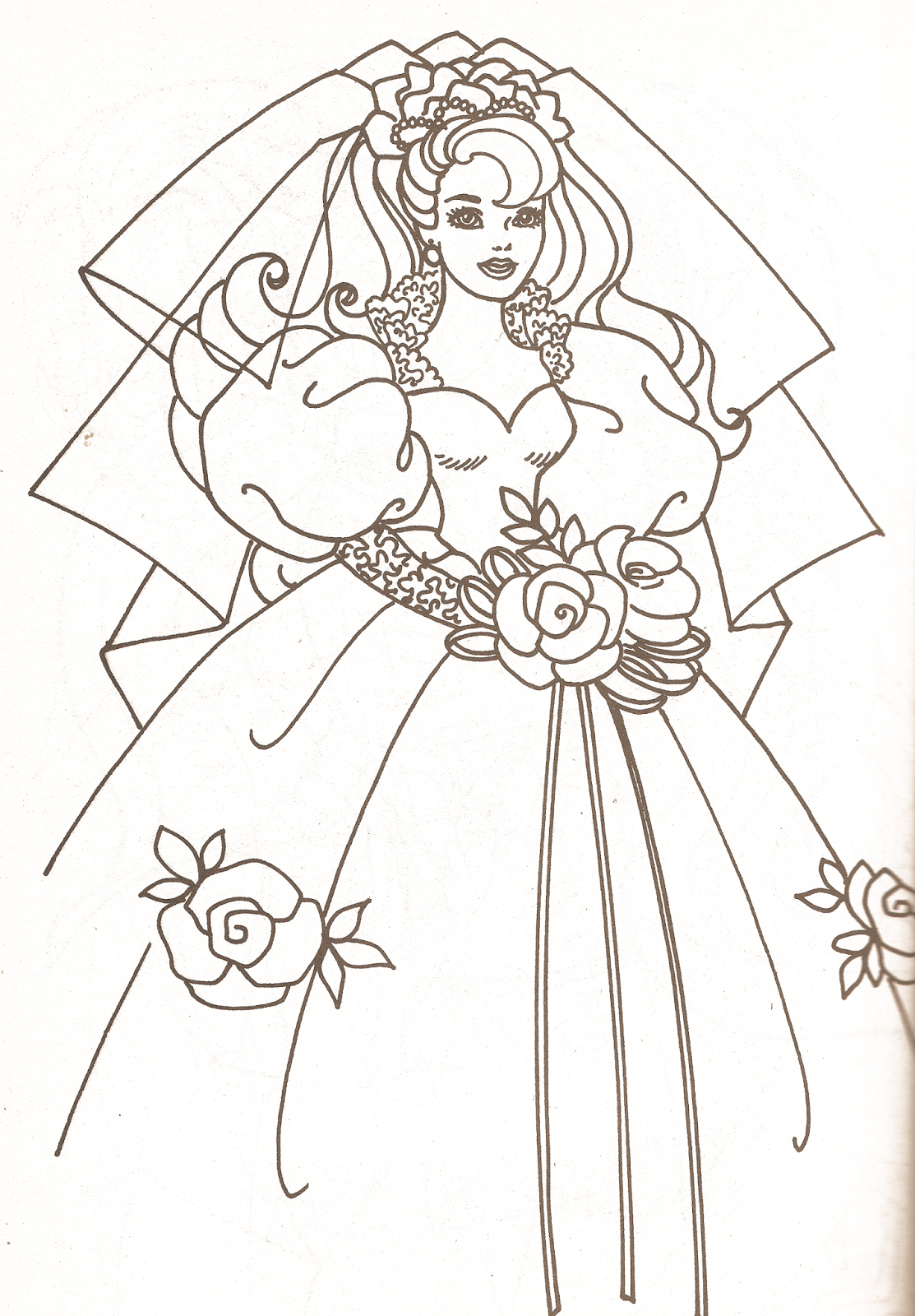 1113x1600 Miss Missy Paper Dolls Barbie Coloring Pages Part 2 Coloring