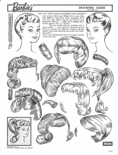 399x524 Miss Missy Paper Dolls Vintage Barbie Drawing Guide Portfolio