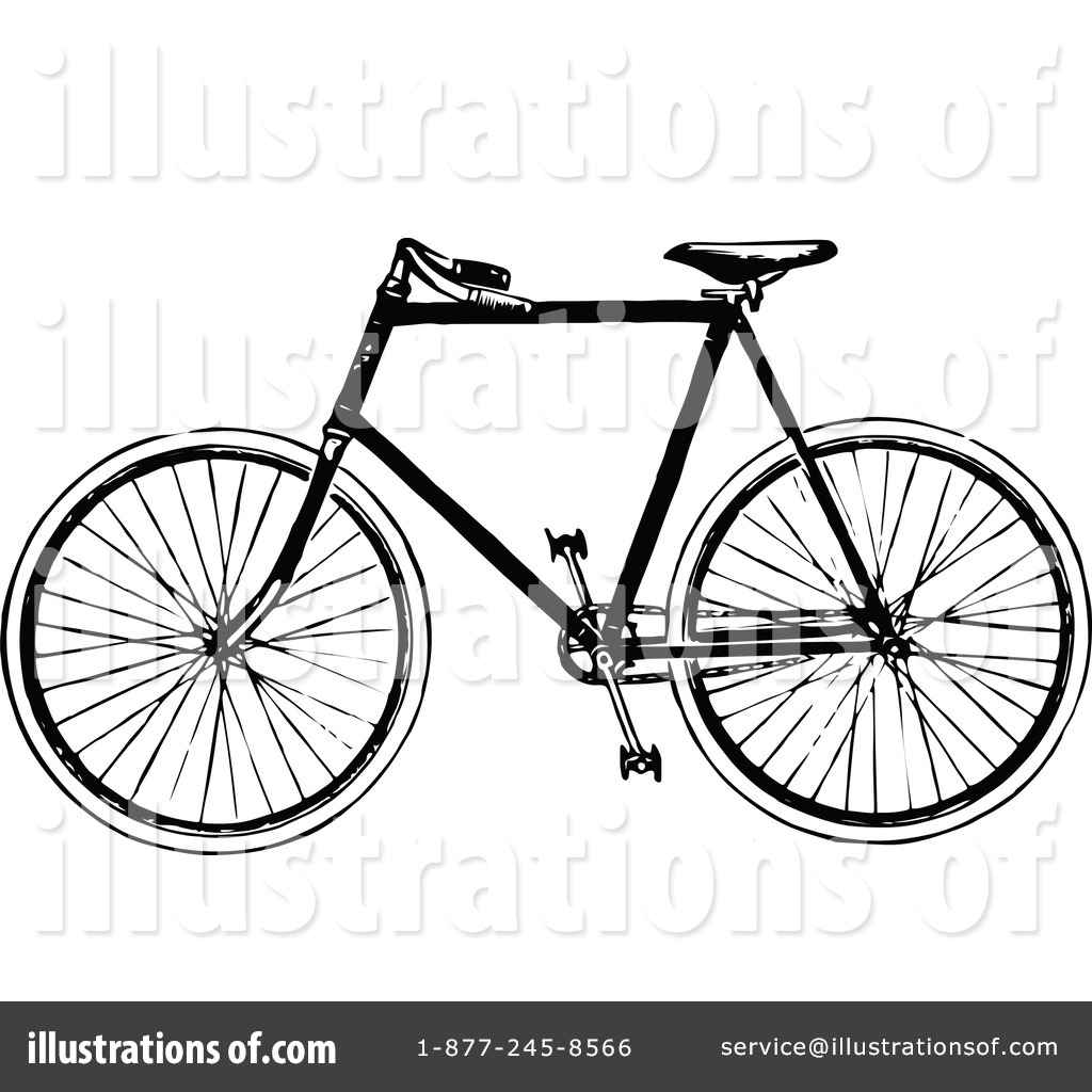 Vintage Bicycle Drawing
