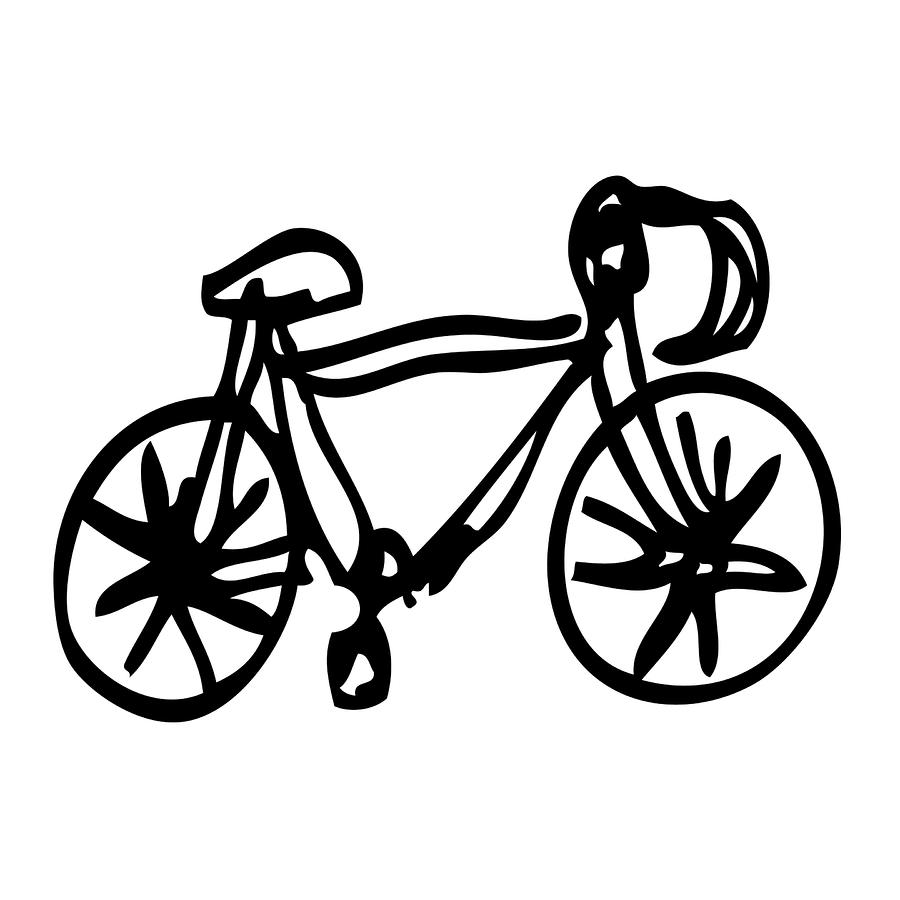 900x900 Auto Blog Post Vintage Road Bike Drawing