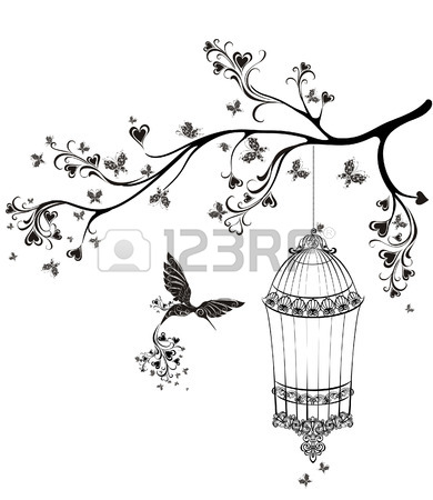 390x450 3,191 Birdcage Stock Vector Illustration And Royalty Free Birdcage