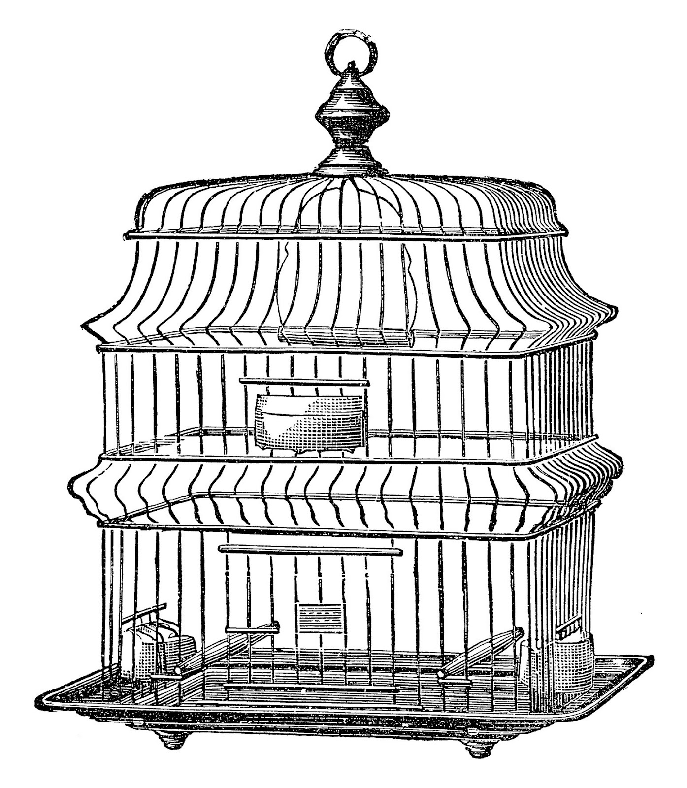 1395x1600 Big Bird Cages For Sale, Cheap