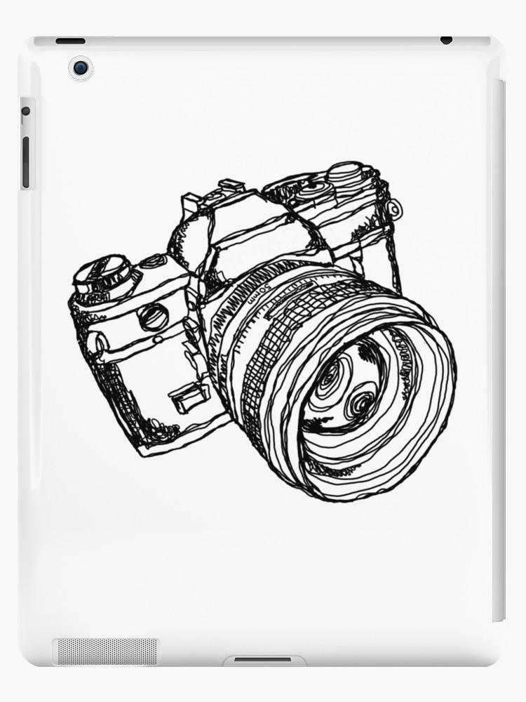 750x1000 Vintage 35mm Slr Camera Design Ipad Cases Amp Skins By Strayfoto