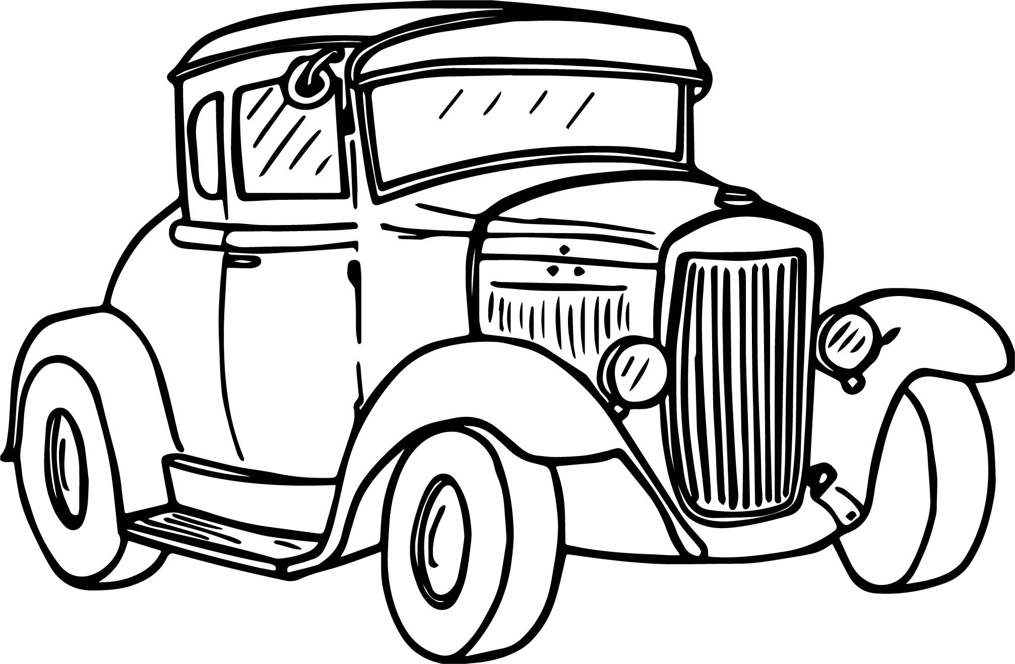 2014x1319 Antique Car Coloring Pages Beautiful Car Coloring Pages Simple Car