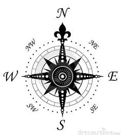 236x266 Vintage Compass Symbol Nautical Compass Symbol