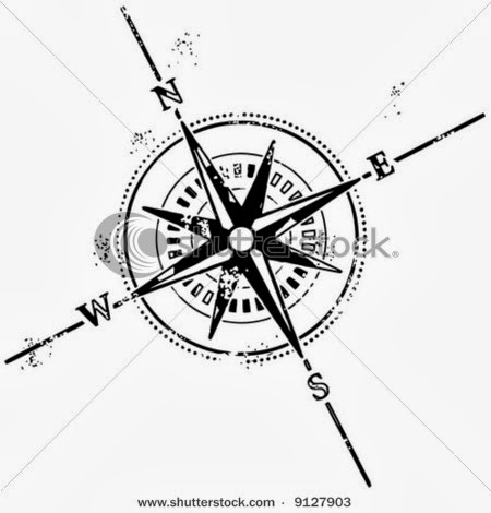 450x470 Compass Tattoos Compass And Tattoo