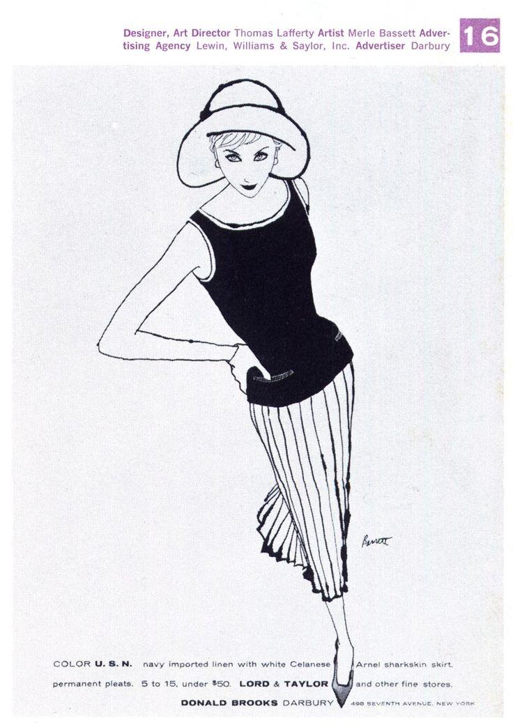 Vintage Fashion Drawing