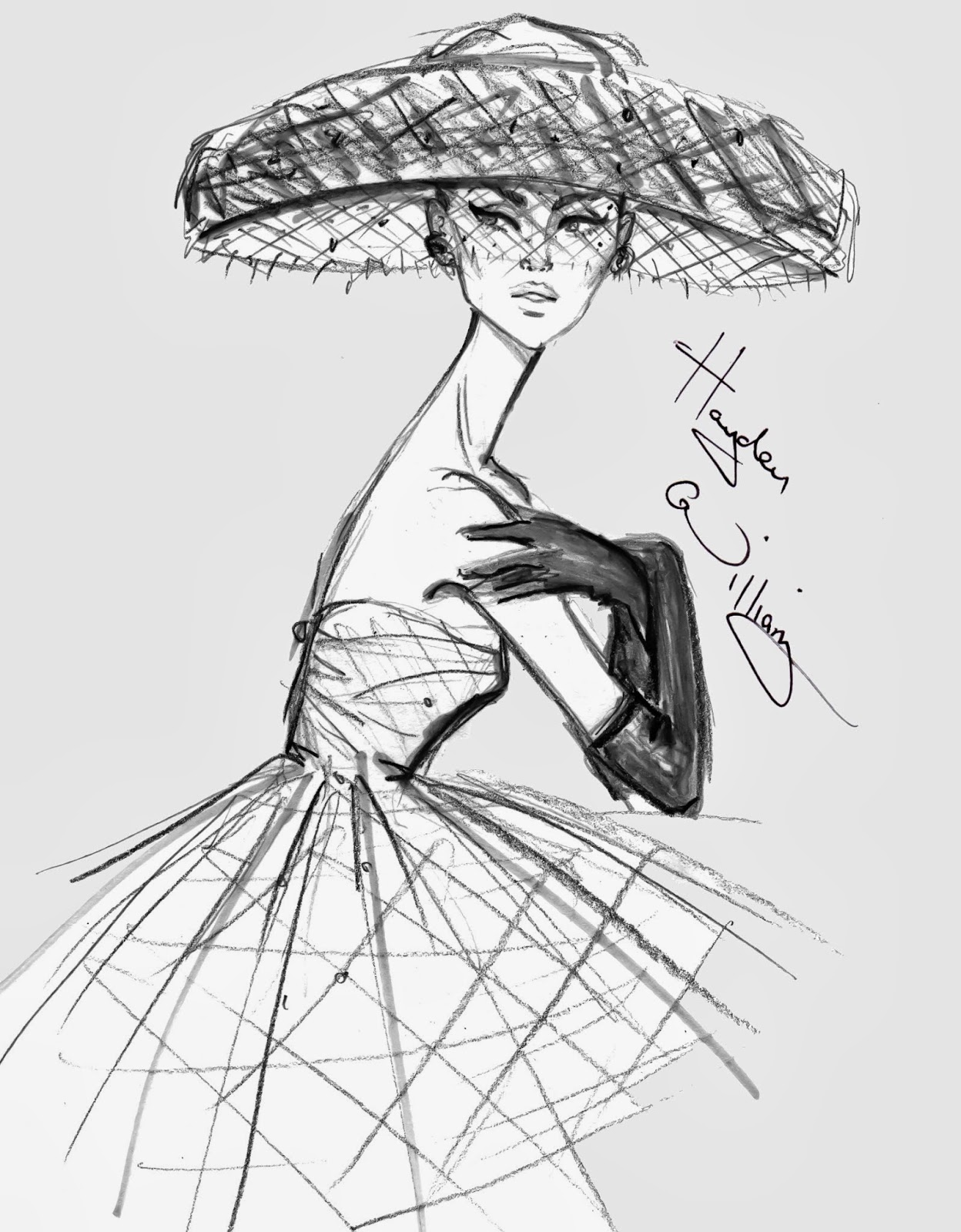 1248x1600 Hayden Williams Fashion Illustrations Quick Sketch