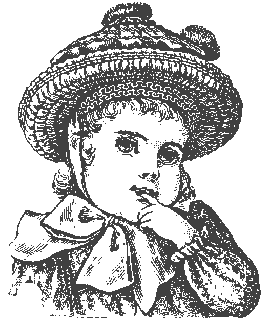 525x625 Old Print Art Vintage Girl