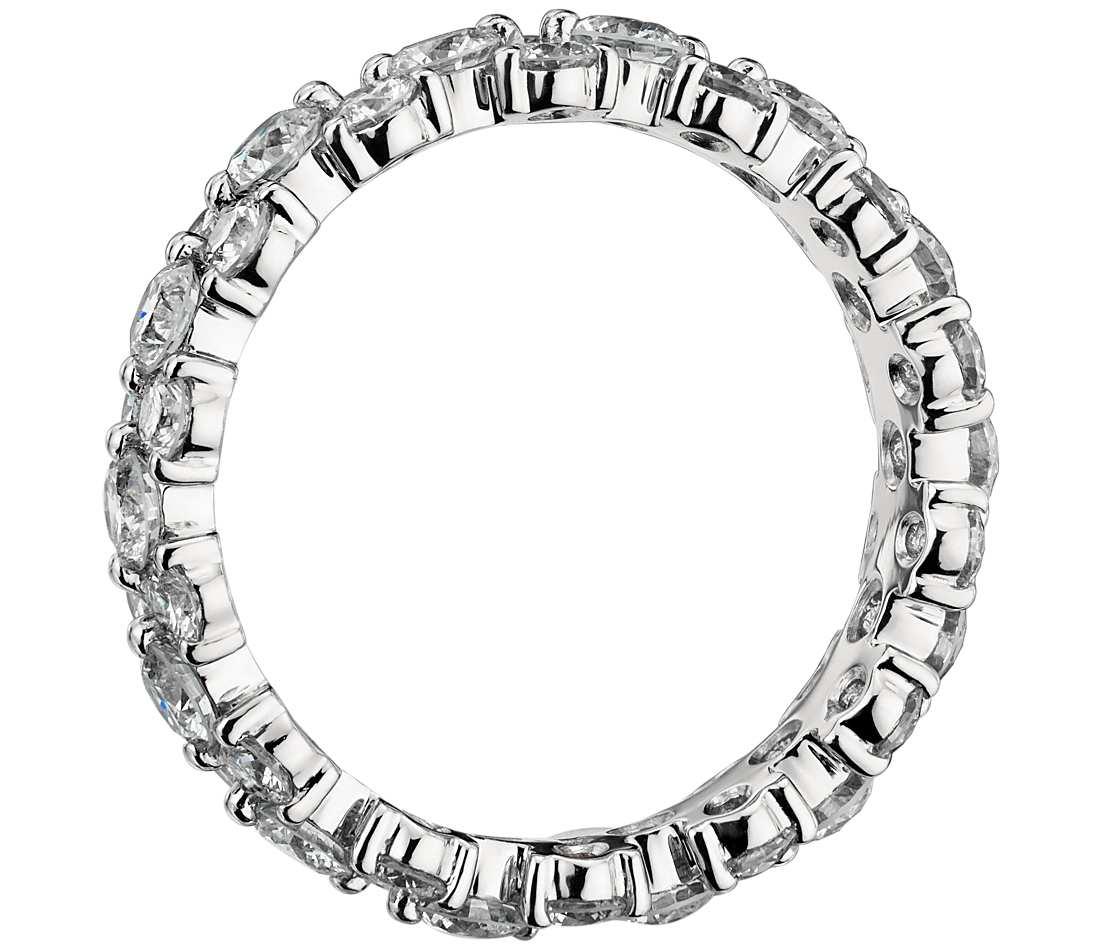 1100x950 2 5 Ct Tw Garland Diamond Eternity Ring In Platinum
