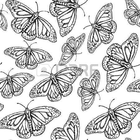 450x450 Sketch Bumble Bee In Vintage Style, Vector Background Royalty Free