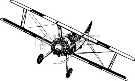 450x272 1,908 Biplane Stock Illustrations, Cliparts And Royalty Free