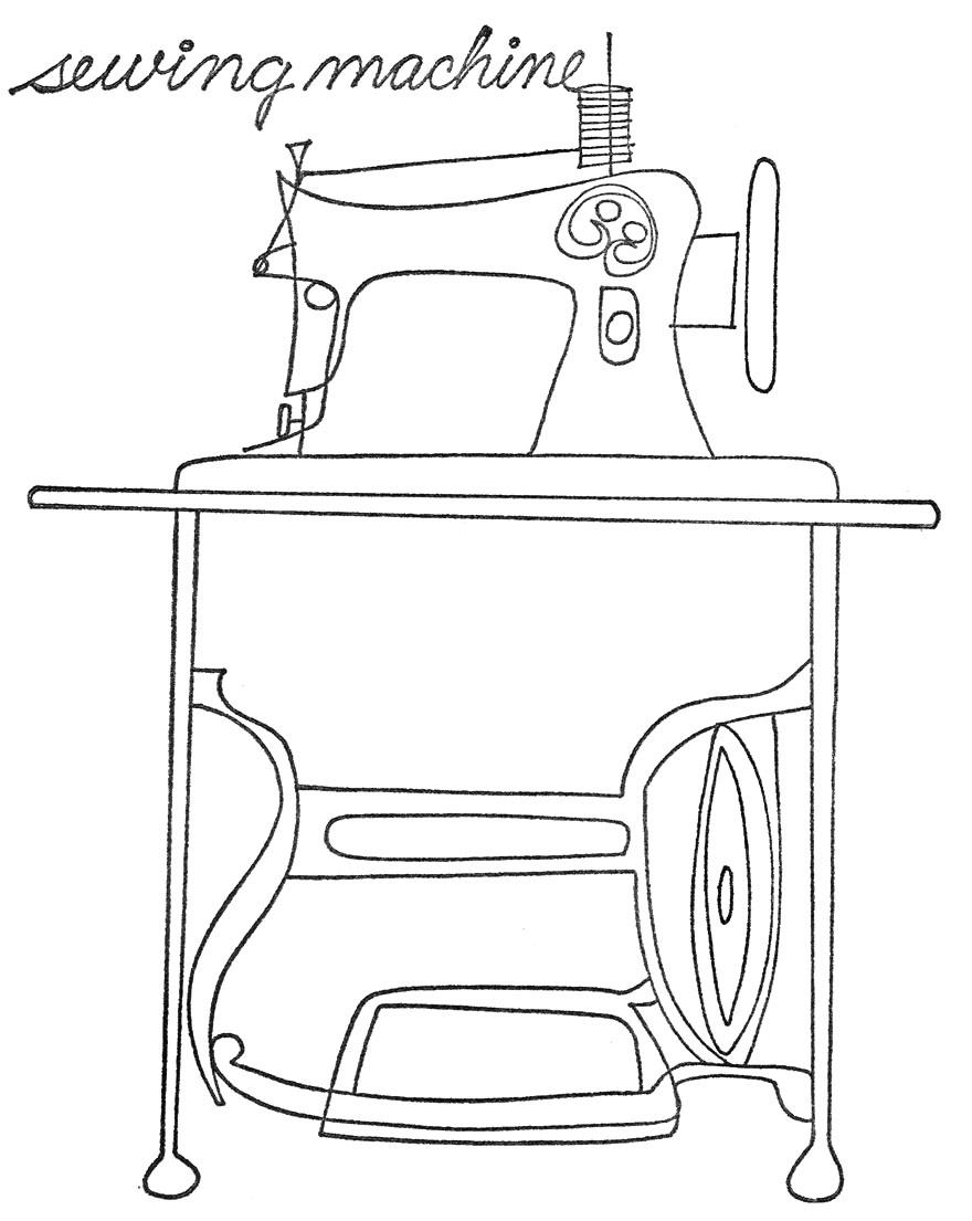 880x1105 Sewing Machine Found @abigail Phillips Regan Truax