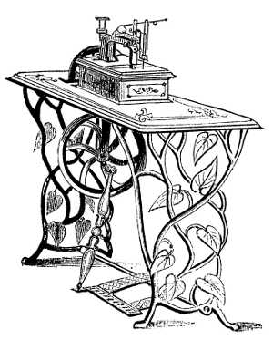 300x373 The Project Gutenberg Ebook Of The Invention Of The Sewing Machine
