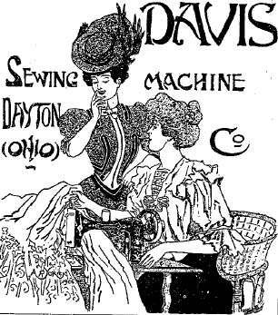 306x347 The Story Of The Davis Sewing Machine Company