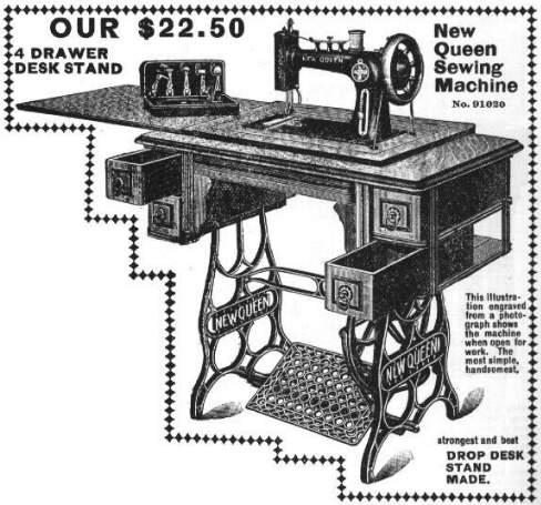 488x455 Antique Sewing Machine Resource