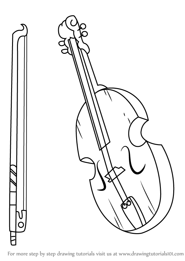 598x844 Step By Step How To Draw Jake's Viola From Adventure Time