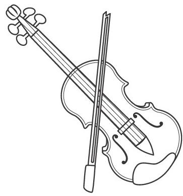 363x389 Viola Amp Coloring Book
