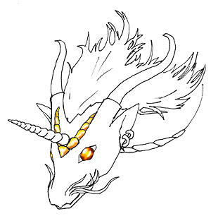 300x306 Gothos Art Drawing Creatures