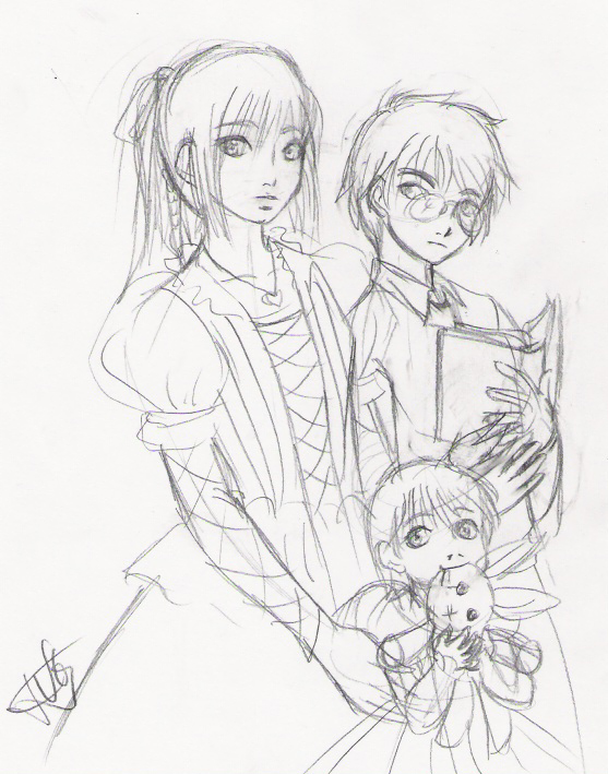 557x709 The Baudelaire Children By Rei Chan