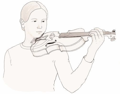 504x396 How To Hold A Violin Bow African American Children