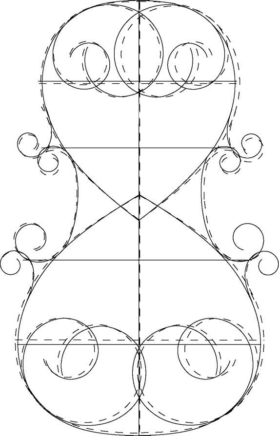 572x895 Drawn Violinist Line Drawing