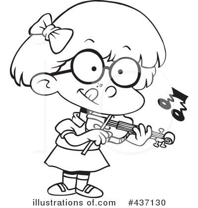 400x420 Violin Clipart