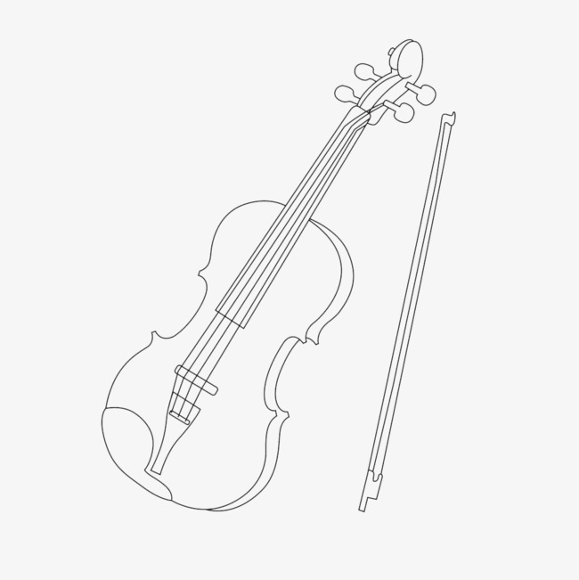 650x651 Violin Stick Figure, Violin, Pencil, Stick Figure Png Image