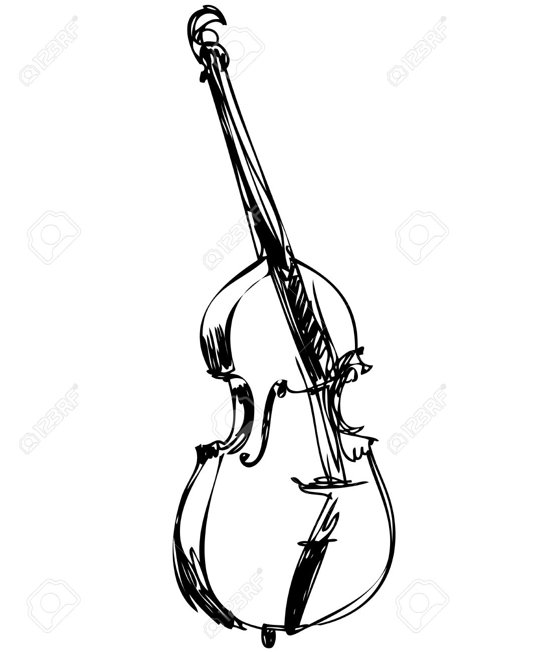 1109x1300 A Stringed Musical Instrument Orchestra Large Violin Bass Royalty