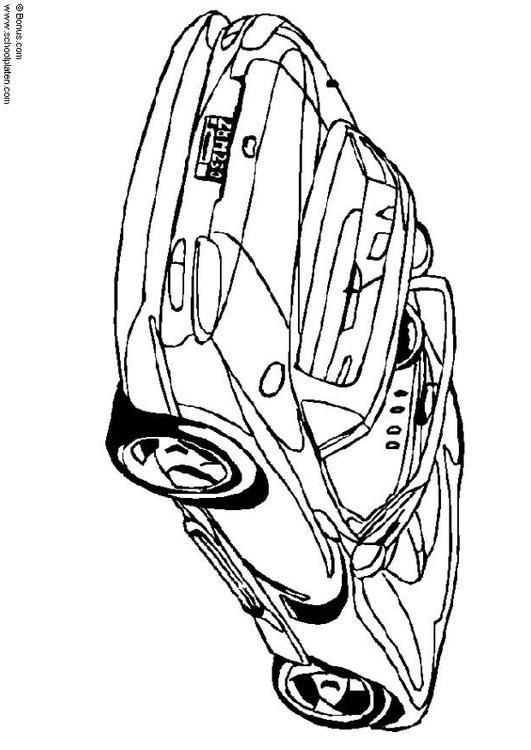 531x750 Coloring Page Dodge Viper