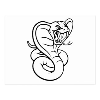 324x324 Viper Snake Postcards